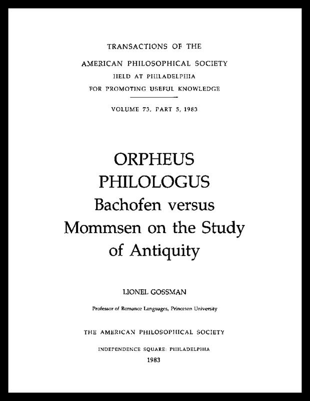 Orpheus Philologus