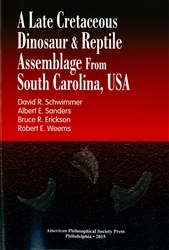 Late Cretaceous Dinosaur & Reptile Assemblage from South Carolina, USA: Transactions, APS (Vol. 105, Part 2)