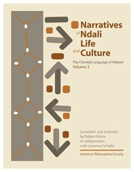 Narratives of Chindali Life and Culture: The Chindali Language of Malawi: Volume 3